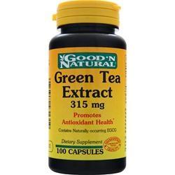 GooDN Natural Green Tea Extract: Viên uống hổ trợ giảm cân từ trà xanh, 100 viên