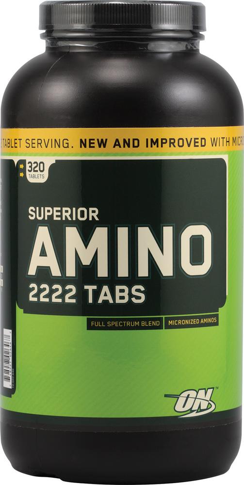 Superior Amino 2222 Tabs chứa 2222 mg amino acid hổ trợ tăng cường cơ bắp khỏe mạnh