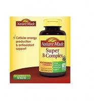 Nature Made Super B-complex – thuốc bổ sung vitamin B giúp tăng cường sức khỏe, 460 viên