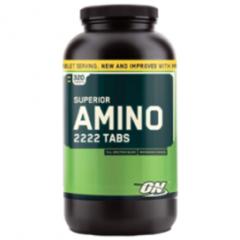 Superior Amino 2222 Tabs: Viên uống hổ trợ và tăng cường cơ bắp, 320 viên