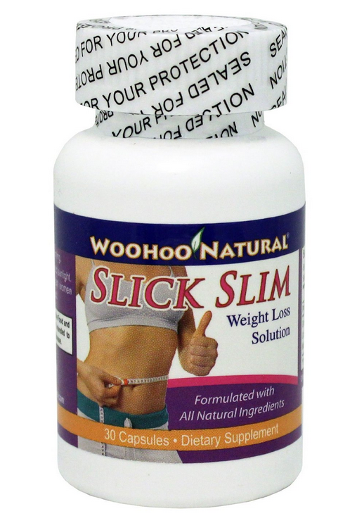 Viên uống giảm cân tự nhiên Woohoo Natural SLICK SLIM giảm cân mà vẫn giữ cân bằng dinh dưỡng cho cơ thể