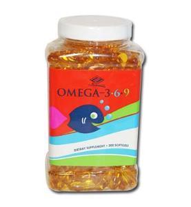 Nu Health  Omega 3,6,9: Viên uống hỗ trợ phòng ngừa xơ vữa mạch máu và bệnh tim mạch