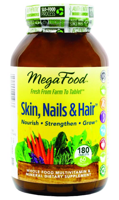 Công dụng nổi bật của megafood skin nails hair