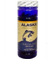 Alaska Deep Sea Fish Oil Omega 3, 6, 9: Thuốc cung cấp Omega 3, 6, 9 hổ trợ sức khỏe tim mạch