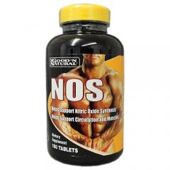 GooD'N Natural NOS: Viên uống tăng cường lưu thông máu, cải thiện sức khỏe tim mạch và cơ bắp, 180 viên