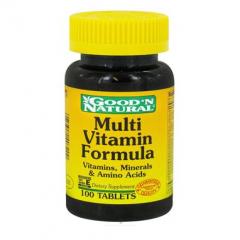 Good' N Natural Multi- vitamin – viên uống bổ sung vitamin khoáng chất giúp tăng năng lượng giúp cơ thể khỏe mạnh, 100 viên