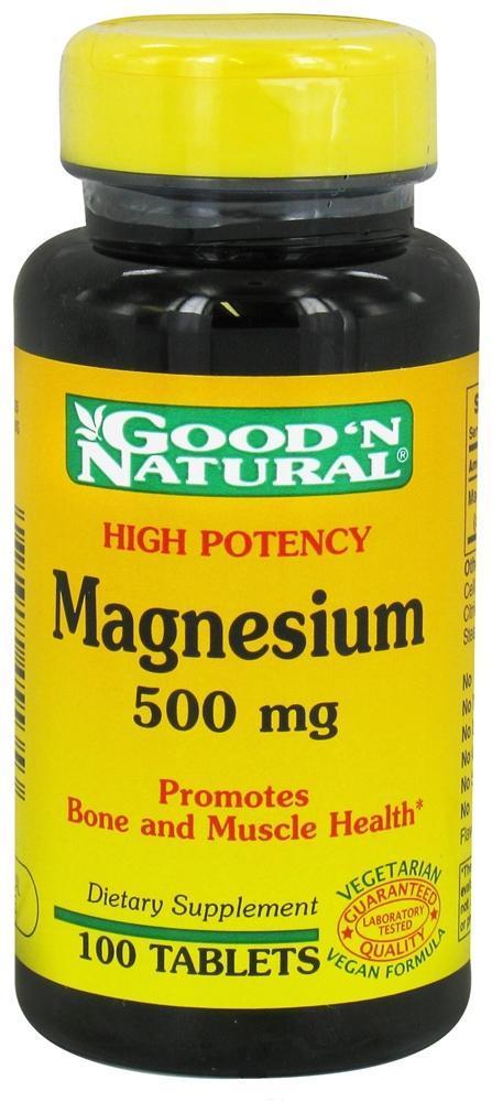 Good'n natural magnesium 500mg