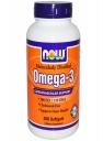 NOW FOOD Omega 3: Viên uống cung cấp lượng omgea 3 giúp duy trì sức khỏe tim mạch, 200 viên