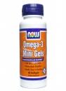 NOW FOOD Omega 3 Mini Gels: Viên uống cung cấp omega 3 hỗ trợ tim mạch, 90 viên