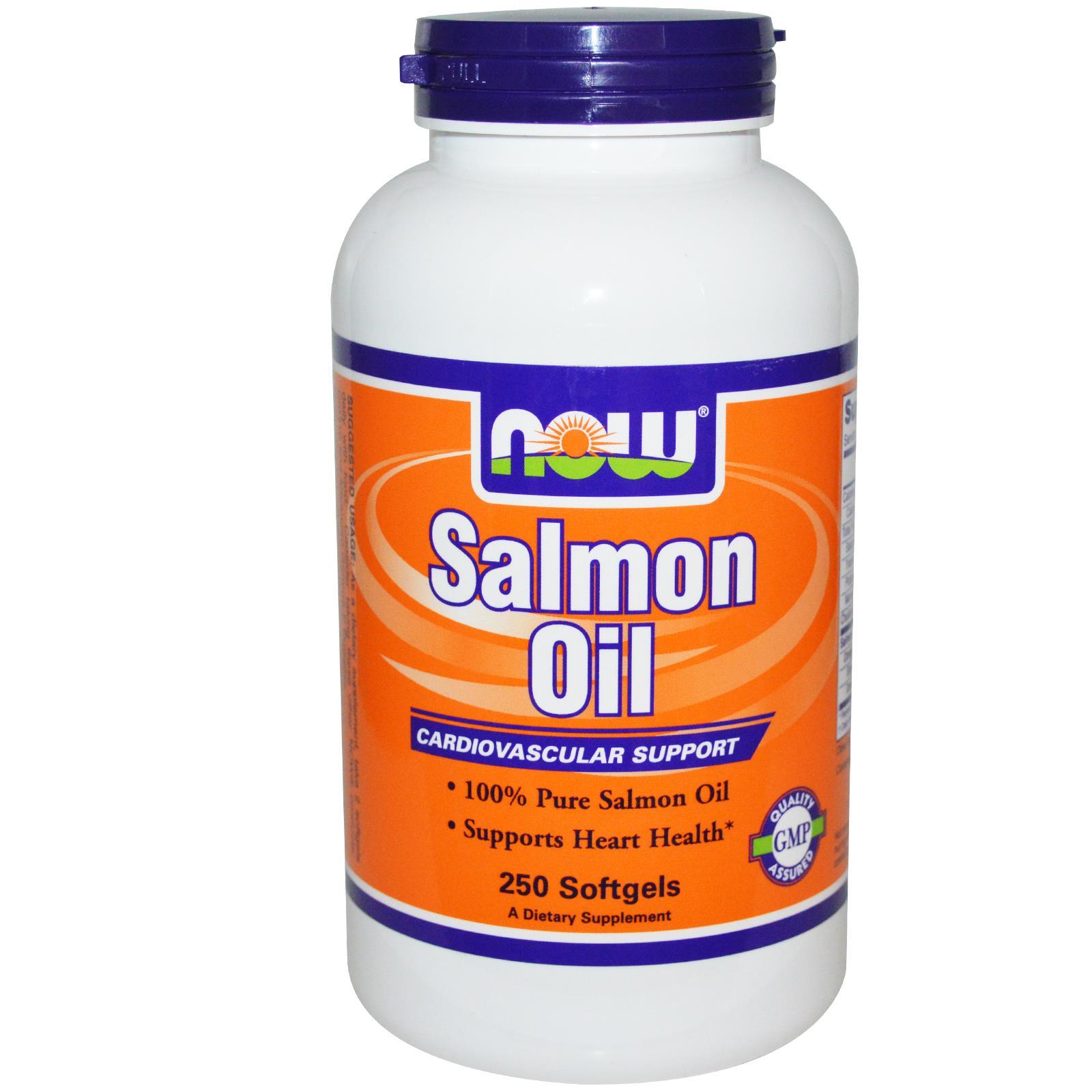 NOW FOOD Salmon Oil cung cấp EPA, DHA duy trì sức khỏe hệ tim mạch