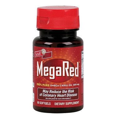 Schiff MegaRed Omega- 3 Krill Oil cung cấp omega 3 giúp hỗ trợ tim mạch