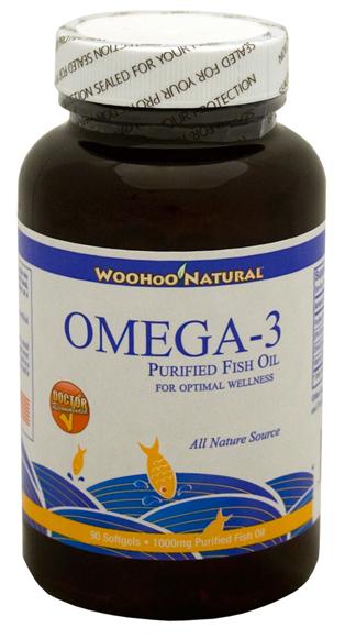 Woohoo Natural Omega- 3 ngừa triệu chứng mãn kinh, hỗ trợ sức khỏe tim mạch