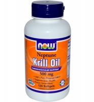 NOW FOOD Neptune Krill Oil: Thuốc duy trì sức khỏe tim mạch và phòng ngừa bệnh tim hiệu quả, 120 viên