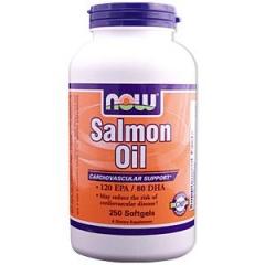 NOW FOOD Salmon Oil: Viên hỗ trợ và duy trì sức khỏe tim mạch, 250 viên