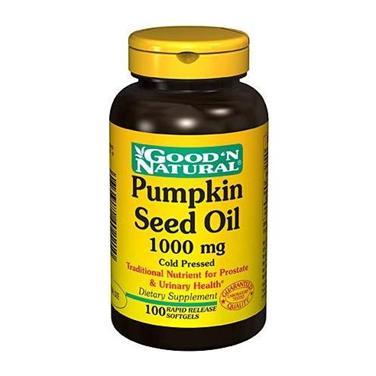 Good'N Natural Pumpkin Seed Oil – Viên uống bổ sung vitamin giúp tăng cường sức khỏe toàn diện, 100 viên