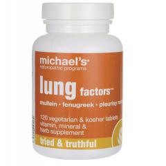 Michael's Lung Factor: Viên uống bảo vệ phổi và hỗ trợ chức năng đường hô hấp, 120 viên