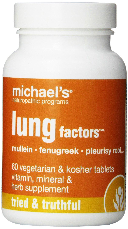Michael's Lung Factorbảo vệ phổi, hỗ trợ chức năng đường hô hấp