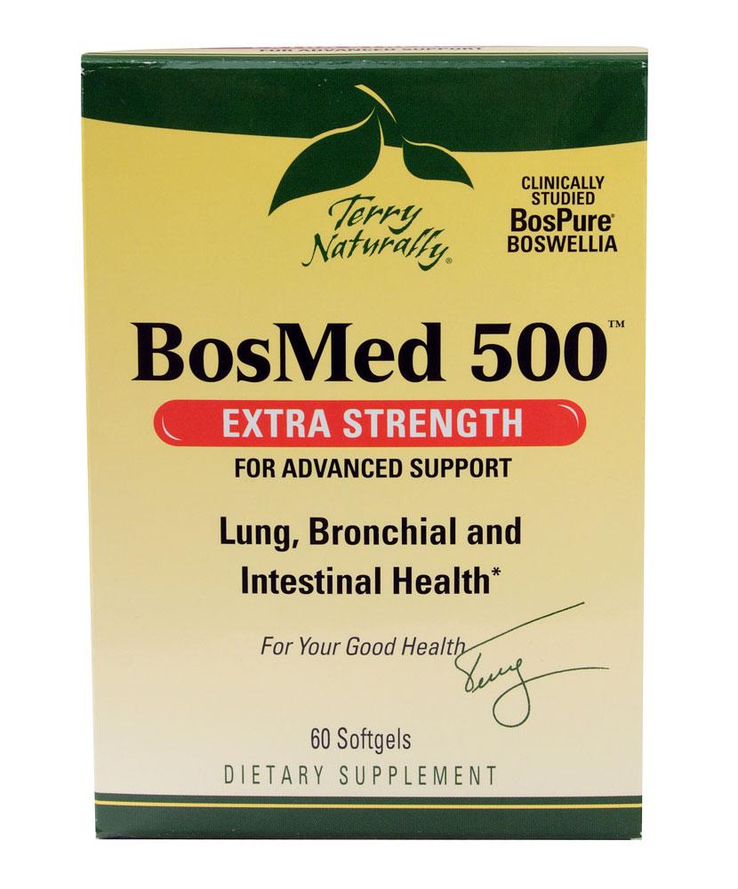 Terry Naturally BosMed 500 bổ phổi, phế quản khỏe mạnh