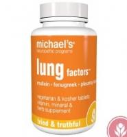 Michael's Lung Factor: Thuốc bảo vệ phổi và hỗ trợ chức năng đường hô hấp, 60 viên