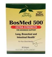 Terry Naturally BosMed 500: Viên uống tăng cường sức khỏe cho phổi, phế quản và đường tiêu hóa , 60 viên