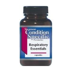 Swanson Resiratory Essential: Viên uống bảo vệ phổi và phòng ngừa các bệnh viêm nhiễm đường hô hấp, 60 viên