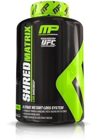 Muscle Pharm Shred Matrix hỗ trợ giảm cân và cải thiện năng lượng