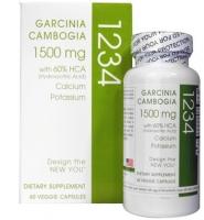 Garcinia Cambogia 1234 – thuốc giảm cân nhanh chóng và hiệu quả, 60 viên