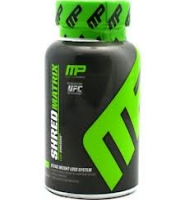 Muscle Pharm Shred Matrix: Thuốc hỗ trợ giảm cân và cải thiện năng lượng cơ thể, 120 viên