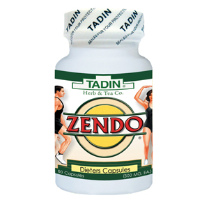 Zendo (tadin) viên uống giảm cân chiếc xuất từ thảo dược 500mg 60 viên