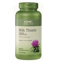 GNC Milk Thistle 200 mg – thuốc giải độc gan, hỗ trợ chức năng gan, 200 viên