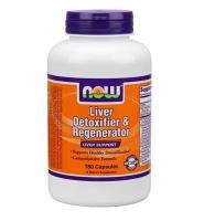 Now Liver Detoxifier & Regenerator – thuốc giải độc gan, tăng cường chức năng gan hiệu quả, 180 viên