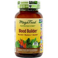 MegaFood Blood Builder: Viên uống giúp phòng và hỗ trợ điều trị thiếu máu, 90 viên