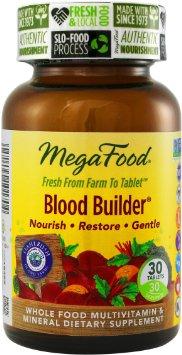MegaFood Blood Builder là viên uống bổ máu an toàn và hiệu quả cung cấp sắt, acid folic, vitamin B12