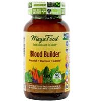 MegaFood Blood Builder: Thuốc giúp phòng và hỗ trợ điều trị thiếu máu, 90 viên
