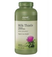 GNC Milk Thistle 200mg – thuốc giải độc gan, tăng cường chức năng gan, 300 viên