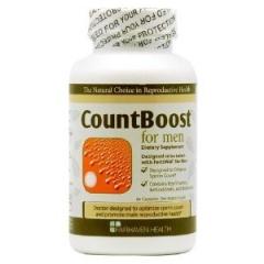 CountBoost for Men: viên giúp gia tăng số lượng tinh trùng và hỗ trợ điều trị bệnh vô sinh ở nam giới, 60 viên