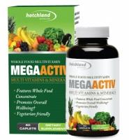 Mega Activ – Viên uống bổ sung vitamin và khoáng chất từ trái cây cô đặc 60 viên