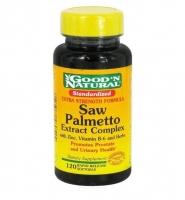 Good'N Natural Saw Palmetto Complex Extract – tăng cường sức khỏe tuyến tiền liệt và đường niệu, 120 viên