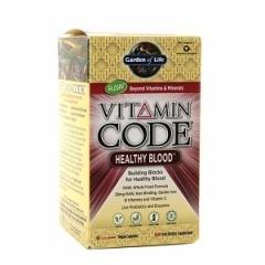 Garden of Life Vitamin Code Healthy Blood: Thuốc bổ sung dưỡng chất, phòng ngừa và hỗ trợ điều trị bệnh thiếu máu, 60 viên