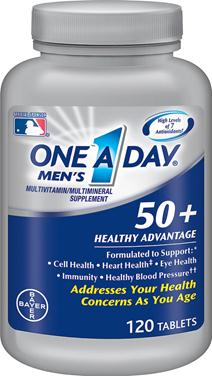 Tác dụng nổi bật của one a day men's 50 healthy advantage