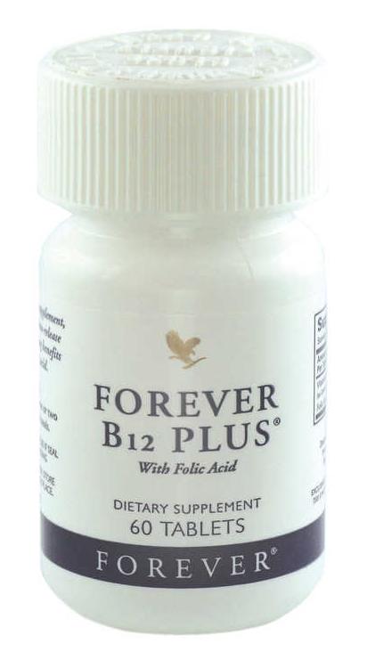 Forever Living Products Forever B12 Plus cung cấp vitamin B12 và acid Folic giúp nâng cao  sức khỏe, tăng tạo máu