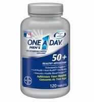 One a Day men's 50+ Healthy Advantage – thuốc cung cấp vitamin khoáng chất cho nam giới trên 50 tuổi, 120 viên