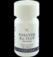 Forever Living Products Forever B12 Plus: Thuốc cung cấp vitamin B12 và acid Folic giúp nâng cao  sức khỏe, tăng tạo máu, 60 viên