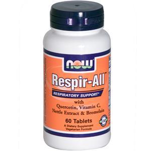 Now Food Respir– All: Viên uống phòng và điều trị dị ứng đường hô hấp, 60 viên