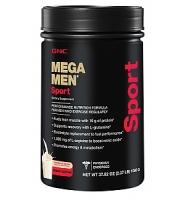 GNC Mega Men Sport – sữa uống bổ sung vitamin, giúp tăng cường cơ bắp dành cho nam giới hoạt động thể thao, thể hình, vị vani, 2.37lbs