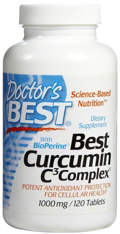 Doctor's Best Curcumin C3 Complex 1