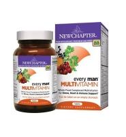 NewChapter Every Man MultiVitamin – Viên uống bổ sung vitamin, khoáng chất cho nam giới, 120 viên