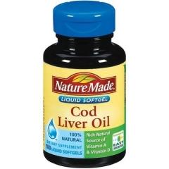 Nature Made Fish Oil Omega 3 ,1200mg - viên uống bổ sung Omega 3 giúp bảo vệ hệ tim mạch hiệu quả, 100 viên