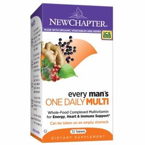 Newchapter every man's one daily multi – bổ sung vitamin và khoáng chất giúp tăng cường sức khỏe nam giới, 72 viên