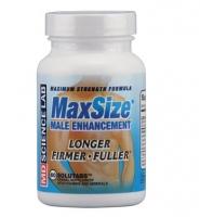 MD Science Lab Max Size – Viên uống tăng cường sinh lý, làm chậm quá trình mãn dục ở nam giới, 60 viên